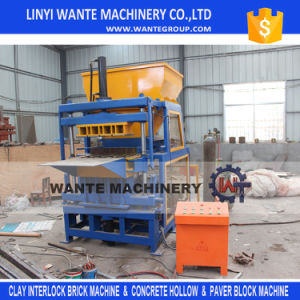 Wt4-10 Automatic Clay Brick Making Machine/Compressed Earth Brick Machine pictures & photos