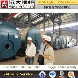 0.35MW 0.7MW 1.4MW 2.8MW 4.2MW 7MW Gas and Oil Fired Hot Water Boiler for Hotel School Hospital Greenhouse pictures & photos