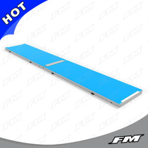 10cm Dwf (Double Wall Fabric) Inflatable Gymnastic Yoga Mat pictures & photos