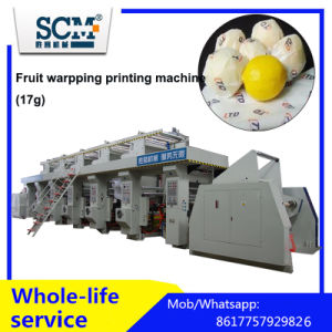 Fruit Warpping Paper Gravure Printing Machine (17g) pictures & photos
