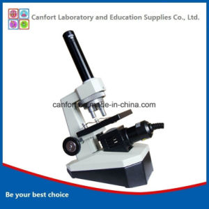 300X Lab Equipment Portable Biological Monocular Microscope for Student Microscope pictures & photos