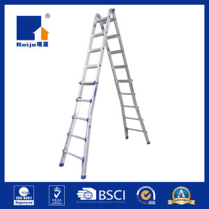 Telescopic Ladder Multi Purpose Ladder 4*5step pictures & photos