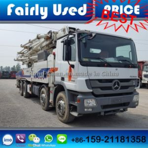 Used Zoomlion Concrete Pumps 48 Meters for Sale