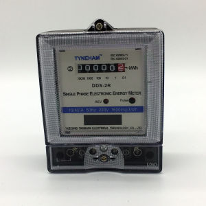 Dds-2r Series Single Phase Electronic Energy Meter pictures & photos