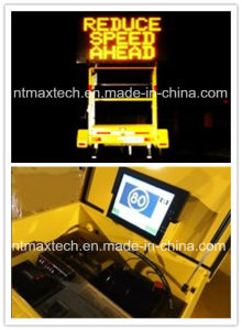 Message Board Trailer Traffic Sign Traffic Control Road Safety Traffic Management Road Security pictures & photos