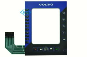Volvo Embossing Membrane Keypad Automotive Control pictures & photos