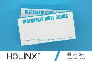 Disposable Powder Free Vinyl Gloves/Medical Disposable/Working Glove pictures & photos