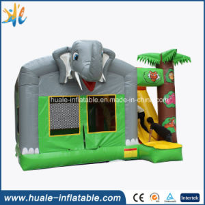 Inflatable Jumping Bouncer House with Slide for Kids