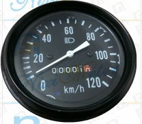 The 0-120 Mechanical Odometer with Mileage pictures & photos