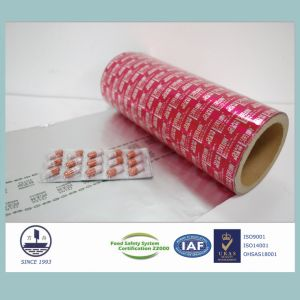 Pharmaceutical Ptp Aluminum Foil Packaging for Tablets & Capsules Alloy 8011 pictures & photos