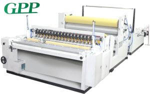 Automatic High Speed Rewinding Toilet Tissue Machine pictures & photos