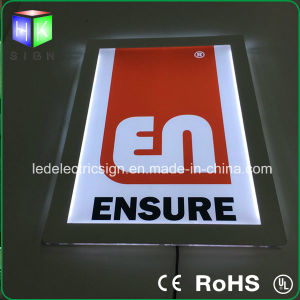 6mm Ultra-Thin Crystal LED Advertising Energy Saving Light Box pictures & photos