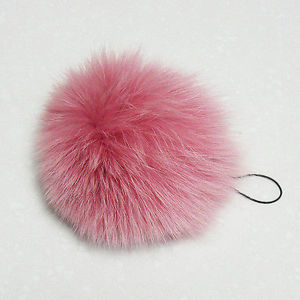 Fashion Style Red 13cm Fox Fur Pompom/Fur/Fashion Fur Product pictures & photos