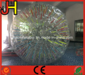 Cheap Inflatable Glowing Zorb Ball with LED Light pictures & photos