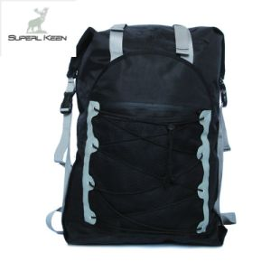 Outdoor Black Waterproof Hiking Backpack pictures & photos