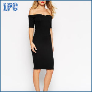 Elegant High Quality Sexy Sweetheart Neckline off Shoulder Evening Dress pictures & photos