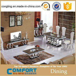 Luxury Marble Dining Table Home Furniture
