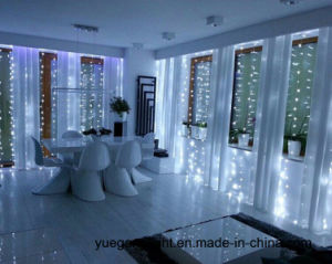 Waterproof 6*3m 600LEDs LED Curtain Light Icicle Light pictures & photos