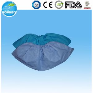 One-Time Use Disposable Non-Skid Shoe Cover pictures & photos