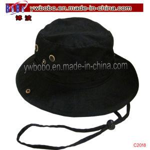 Corporate Gift Strip Bucket Hat Cotton Bucket Hat Headwear (C2021) pictures & photos