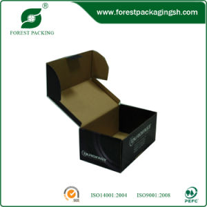 Black Color Printing Paper Packaging Box pictures & photos