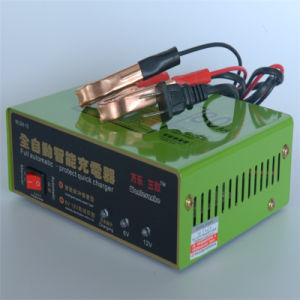 6V/12V 80ah Vehicles Dry and Wet Intelligent Pulse Repair Type Quick Charger pictures & photos