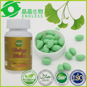 Top Quality Anti-Fatigue Reduce Blood Pressure Ginkgo Biloba Capsule pictures & photos
