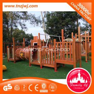 Children Amusement Outdoor Wood Playground Equipment pictures & photos