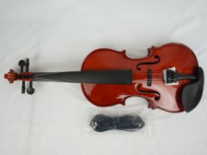 All Solid Body Color Acoustic Electrical Violin pictures & photos