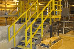 FRP Handrail/Building Material/Fiberglass Ladder/ Step Ladder pictures & photos