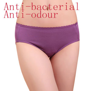 Anti-Baterial Modal Silver Fiber Underwear for Women pictures & photos