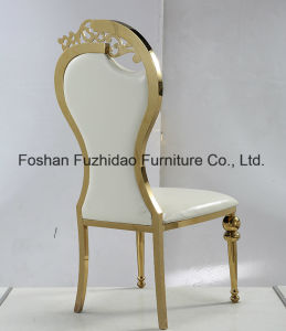 French Design Luxury Wedding Chair in Stainless Steel pictures & photos