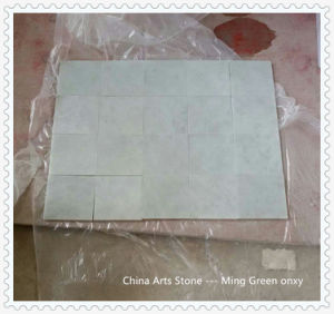 Chinese Ming Green Light Green Marble Tile pictures & photos