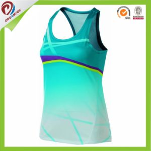 Top Selling Custom Design Sublimated Running Singlet Gym Singlets pictures & photos
