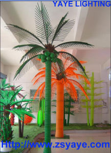 Yaye 18 Competitive Price Ce/RoHS Waterproof IP65 Green LED Coconut Tree Light with 2 Years Warranty pictures & photos