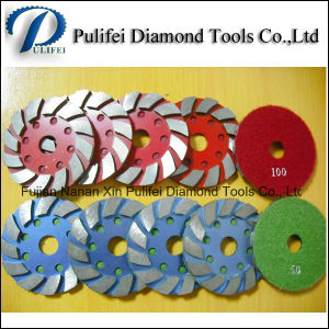 Flexible Pad Diamond Metal Segment Grinding Pad for Concrete Floor Grinding Machine