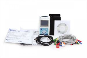24 Hours Cardioscape 12-Channel Color LCD Holter Monitor-Alisa pictures & photos