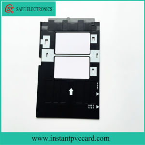 Low Price Ink Printing PVC Card Tray for Epson A50 Printer pictures & photos