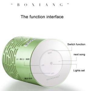 Mini Portable LED Light Wireless Bluetooth Speaker pictures & photos