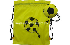 Foldable Draw String Bag, Football, Lightweight, Convenient and Handy, Leisure, Sports, Promotion, Accessories & Decoration, Bags pictures & photos