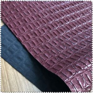 2017 New Embossed Luminous Fashionable Leather (B025090GG) pictures & photos