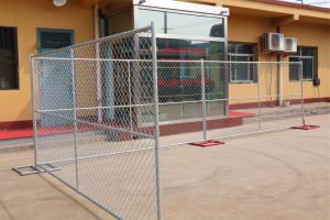 USA Hot-Dipped Galvanized Temporary Chain Link Fence pictures & photos