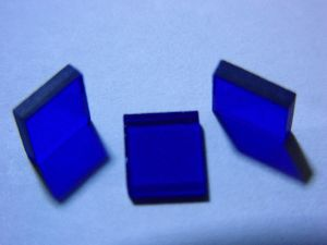 Wholesale 532nm 470nm 635nm Colored Optical Glass for Decoration pictures & photos