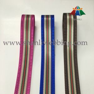 Hot Sale Polyester Jacquard Ribbon for Garments Accessories pictures & photos