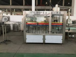 SGS Ce Cgf18-18-6 Washing Filling Capping 3-in-1 Unit