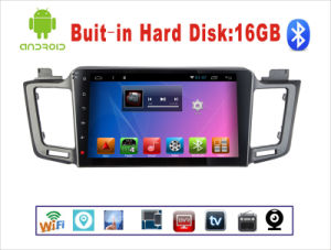 Android System Car DVD GPS Navigation for Toyota RAV4 10.1 Inch Touch Screen with Bluetooth/MP3/MP4