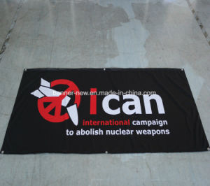 Shiny Full Color Polyester Fabric Banners (SS-SF-95) pictures & photos