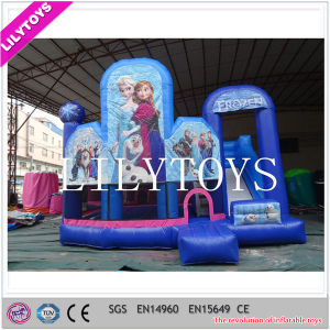 New Designed Inflatable Combo with Slide, Hot Sale Frozen Inflatables pictures & photos
