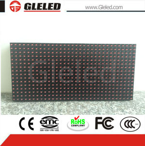 2800 Nits P10 Single Red Color LED Display of Outdoor pictures & photos