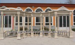 Stone Marble Garden Gazebo for Outdoor Furniture (GR046) pictures & photos